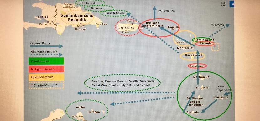 Karibische Reisepläne nach demSturm