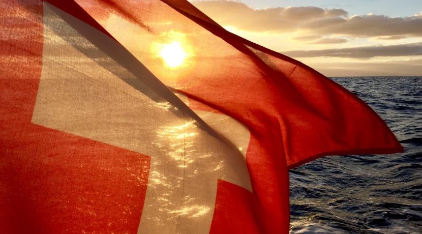 Tschau Schweizerflagge
